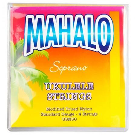 Mahalo Cordes ukulélé Soprano