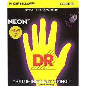 DR Cordes électriques néon jaune