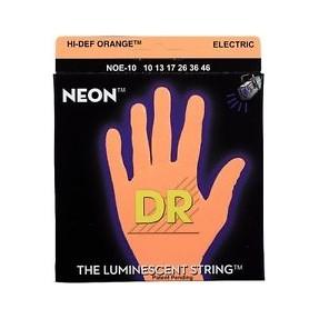 DR Cordes électriques néon orange